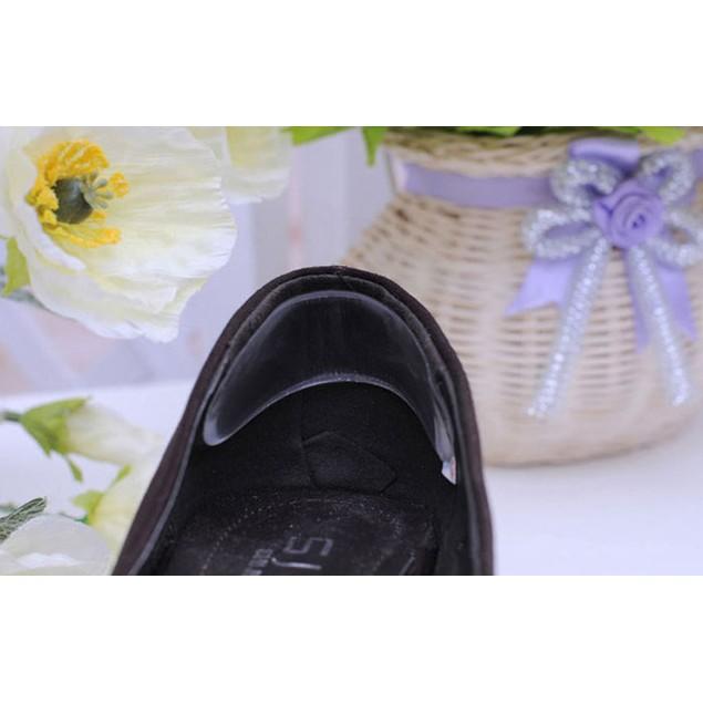 Silicone Gel Heel Cushion protector Foot feet Care Shoe
