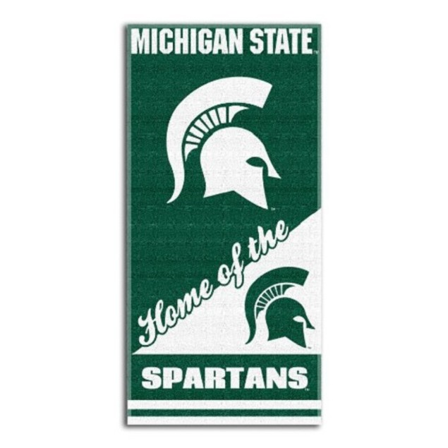 Michigan State Spartans NCAA Northwest Beach Bath Towel