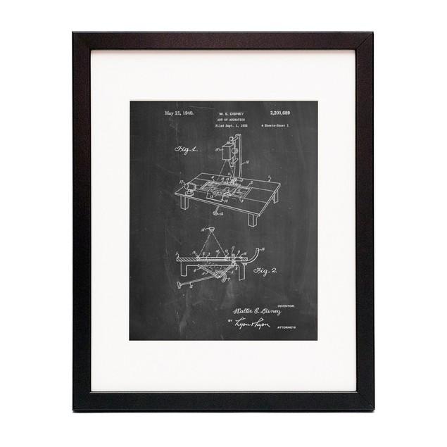 Multi Plane Camera Patent Poster