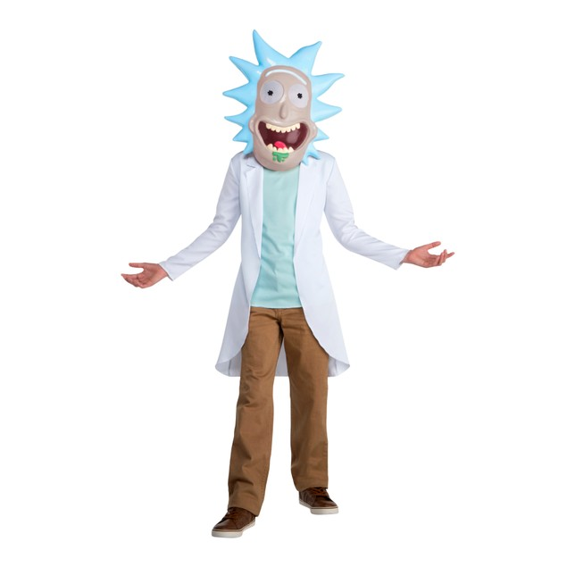 Rick Sanchez Rick And Morty Teen Costume