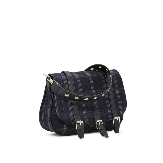 Celebrity NYC Womens Navy Blue Satchel Bag