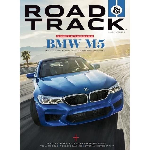 Road & Track Magazine Subscription