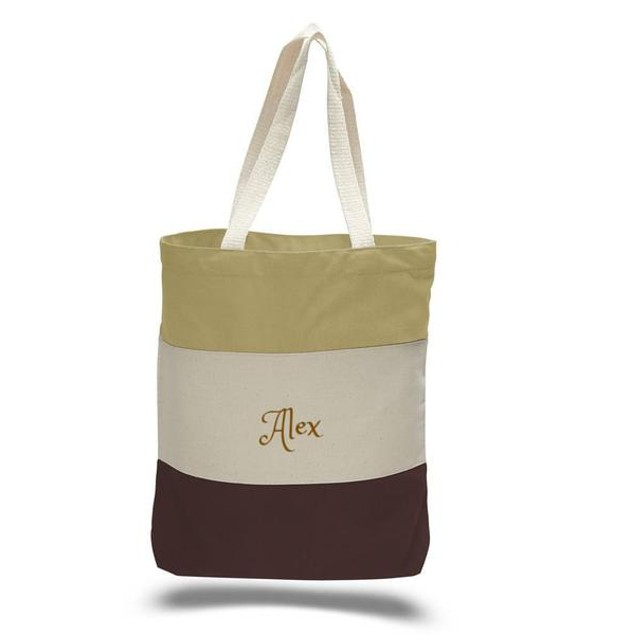 Personalized Canvas Tote Bag /Shopping /Travel /Beach