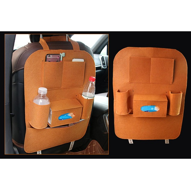 Car Auto Seat Back Multi-Pocket Storage Bag Organizer Holder Hanger