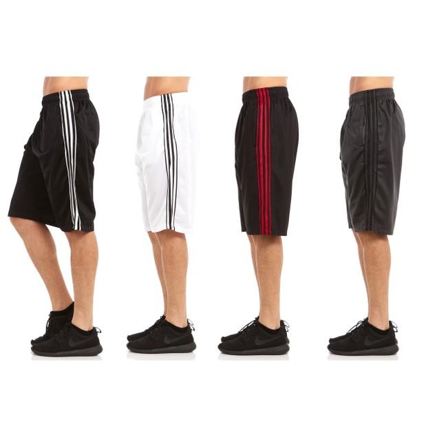 4-Pack Men's Premium Active Athletic Elite Performance Shorts