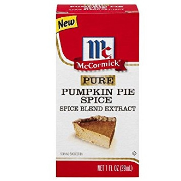 McCormick Pure Pumpkin Pie Spice Blend Extract