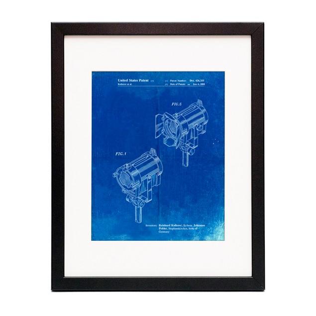 Stage Lighting Patent Poster