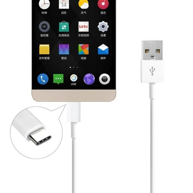 USB-C USB 3.1 Type C Data Charge Cable for Nexus 6P Oneplus 2 Macbook