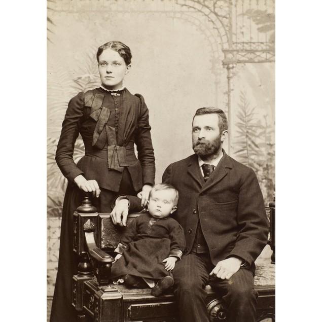 American Family, C1880-85. /Noriginal Cabinet Photograph, American, C1880-8