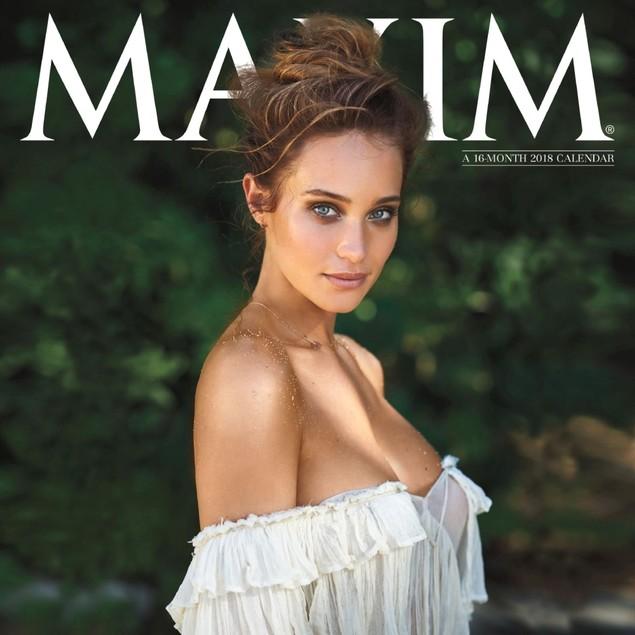 Maxim Wall Calendar, Adult Models by Calendars