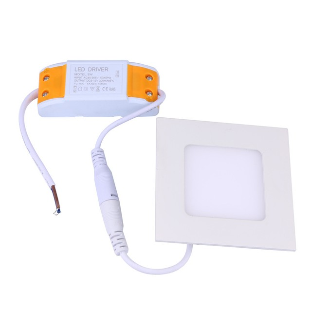 2017 NEW Dimmable LED Recessed Ceiling Panel Down Light Bulb Lamp