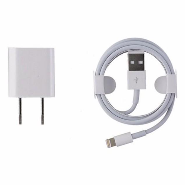 Apple Original Charger + Lightning Cable Bundle