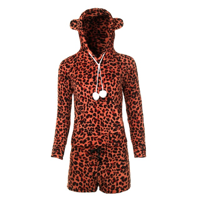 Mystery Deal: 2-Piece Junior Fleece Hoodie & Shorts Pajama Set