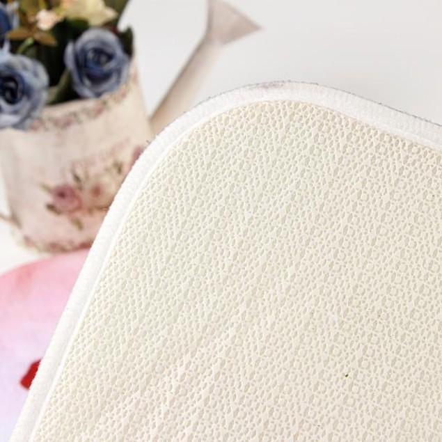 Butterfly Carpets Memory Foam Bathroom Absorbent Non-slip Mat