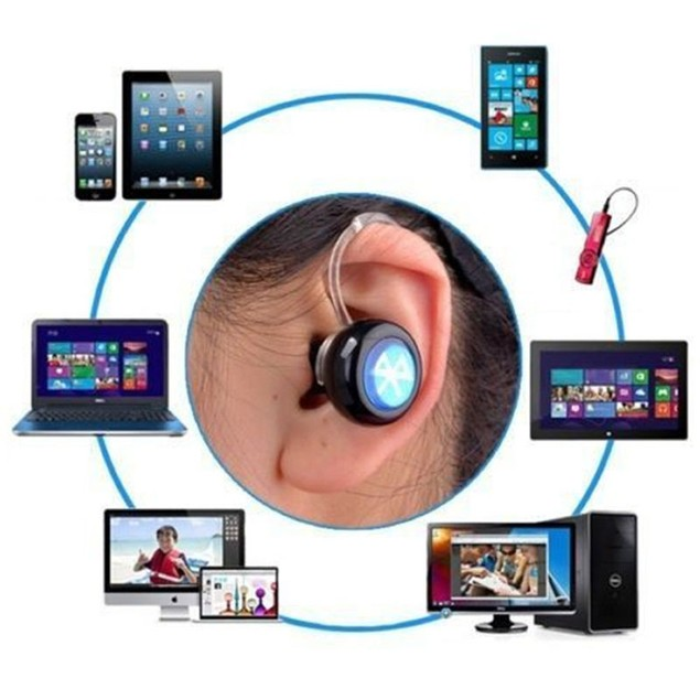 Mini Wireless Bluetooth Handsfree Headset Earphone for iPhone