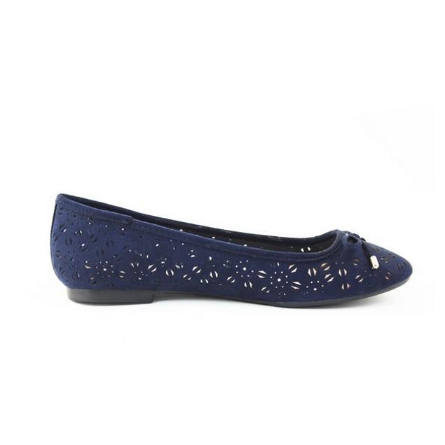 Chic London Rag Ballerina Shoes