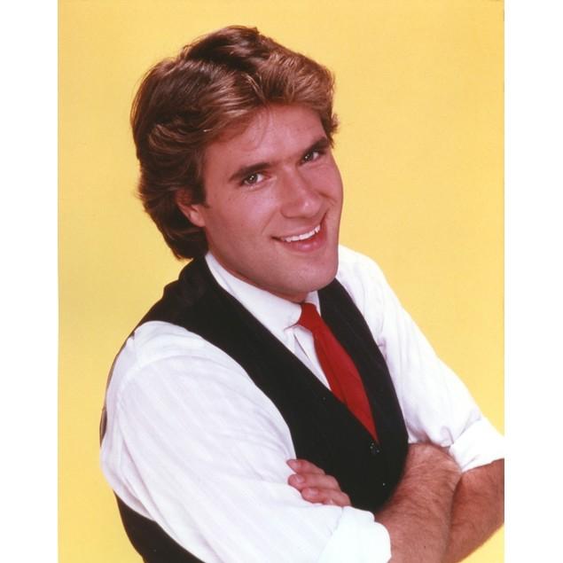 Jim Bullock in White Long Sleeves with Vest Portrait Poster