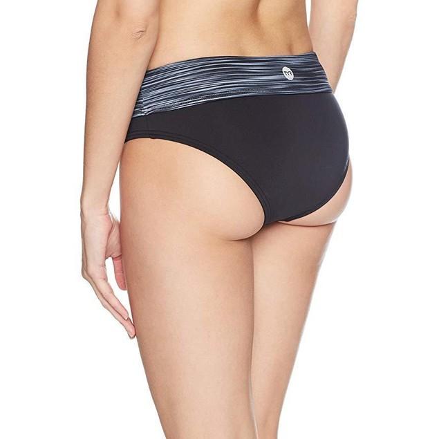 TYR Women's Arvada Riva Classic Bikini Bottom, Black, Small