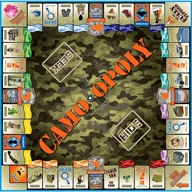 Camo-Opoly, Hunting | Fishing by Late For The Sky Production Co.