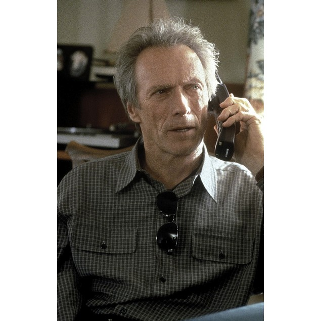 Film still featuring Clint Eastwood in True Crime Poster