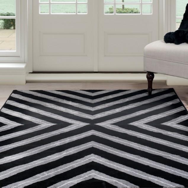 Lavish Home Kaleidoscope Area Rug