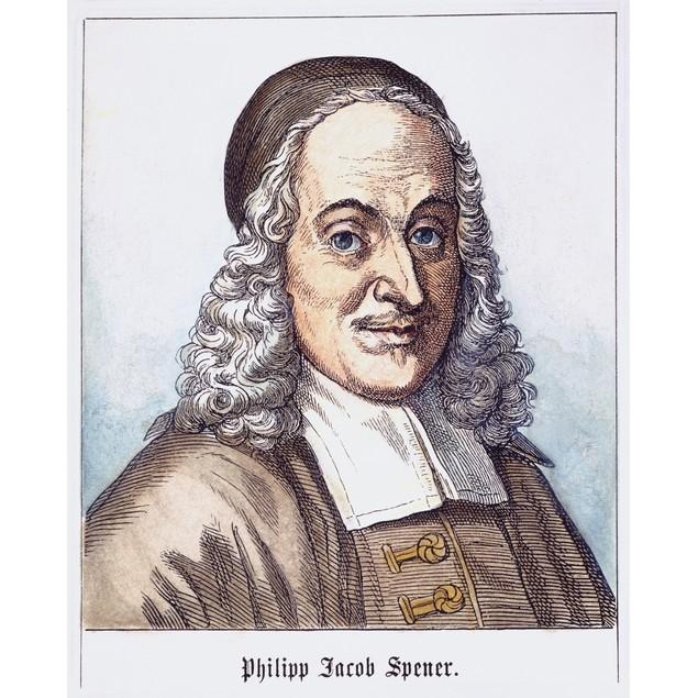 Philipp J. Spener (1635-1705). /Ngerman Protestant Theologian. Line Engravi