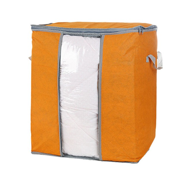 Foldable Home Closet Storage Bag Anti-bacterial Clothes Finishing Bag