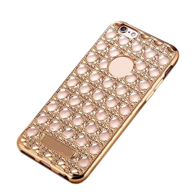 Crystal Clear Rubber Soft TPU Cover Case For iphone 6 Plus /6s Plus