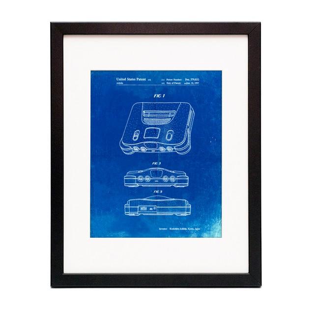 Nintendo 64 Patent Poster