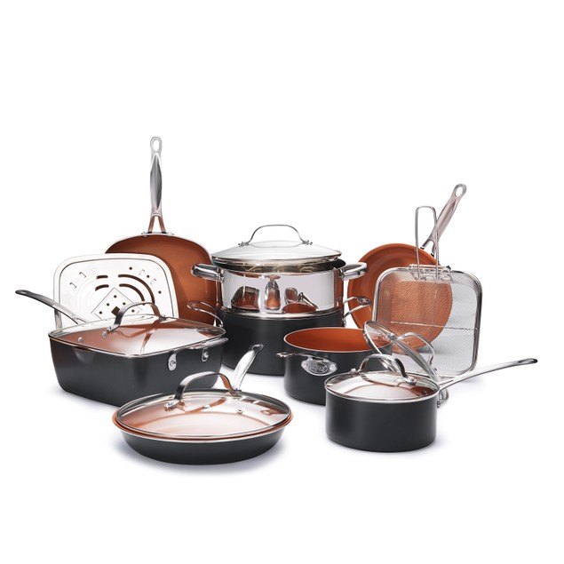 Gotham Steel Essential All in One Cookware and Bake-ware 20 Piece Set