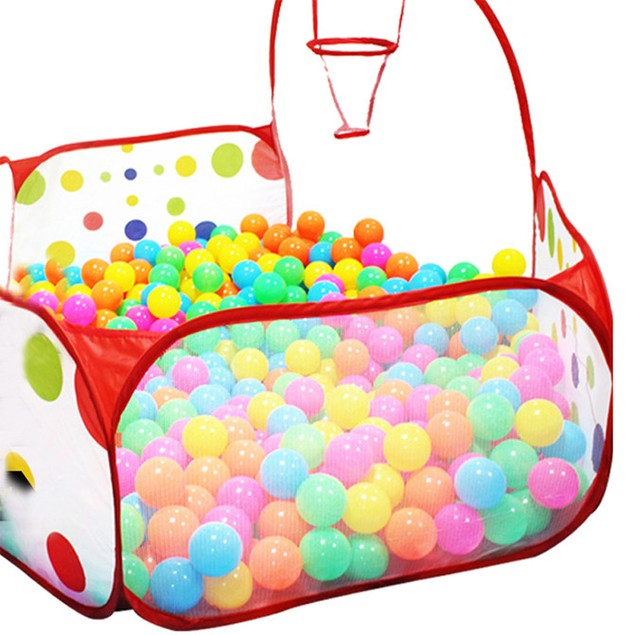 Pop-Up Polka Dot Ball Pit for Kids