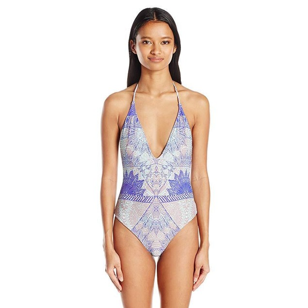 O'Neill Women's Batiki One Piece Swimsuit, Aqua Sky/Aqs, SZ  M