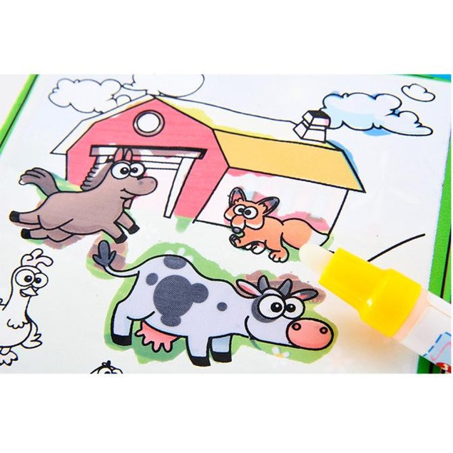 Kids Magic Doodle Drawing Book