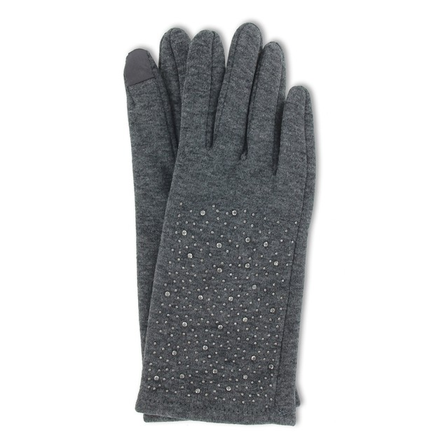2-Pack Jack & Missy Studded Fleece Texting Gloves