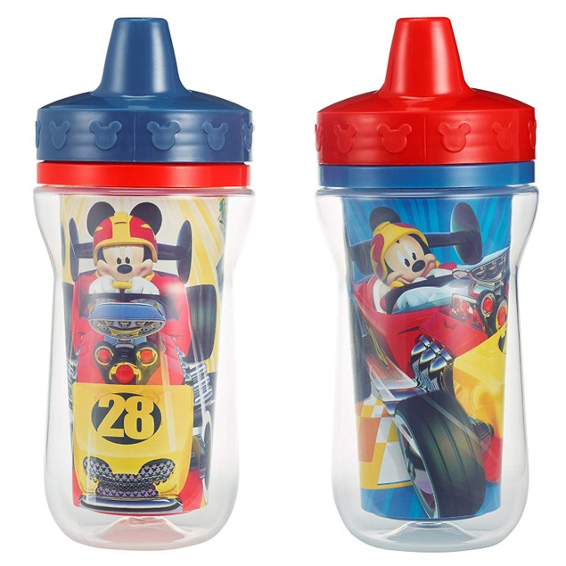 The First Years 2 Pack 9 Ounce Insulated Sippy Cup, Mickey Mouse