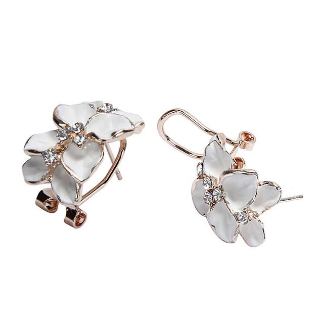 Luxury Women Floral Wedding Party Earring