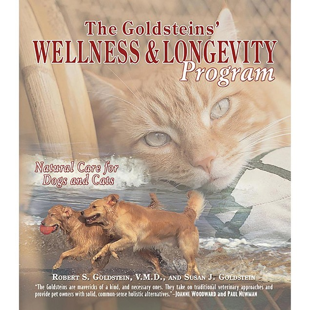 The Goldsteins Wellness and Longevity Program Book, Assorted Dogs by TFH Pu