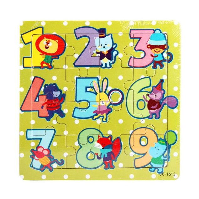 16 Piece Jigsaw Toys For Children Education Puzzles Toys