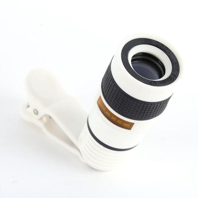 8X Camera Clip Lens
