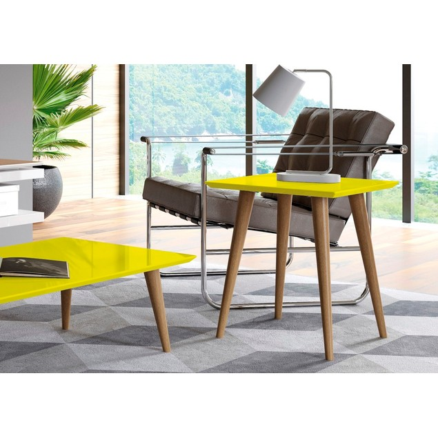 Utopia High Square End Table - 2 Colors!