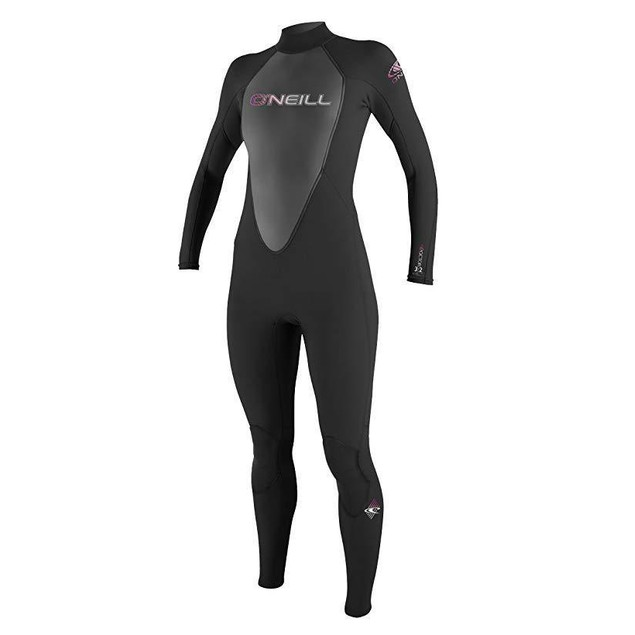 O'Neill   Womens 3/2 mm Reactor Full Suit, Black, 4