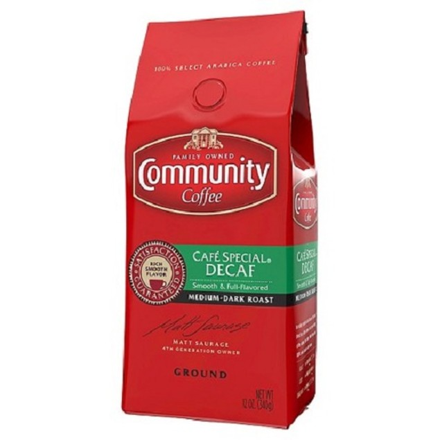 Community Coffee Cafe Special Decaf Ground Coffee
