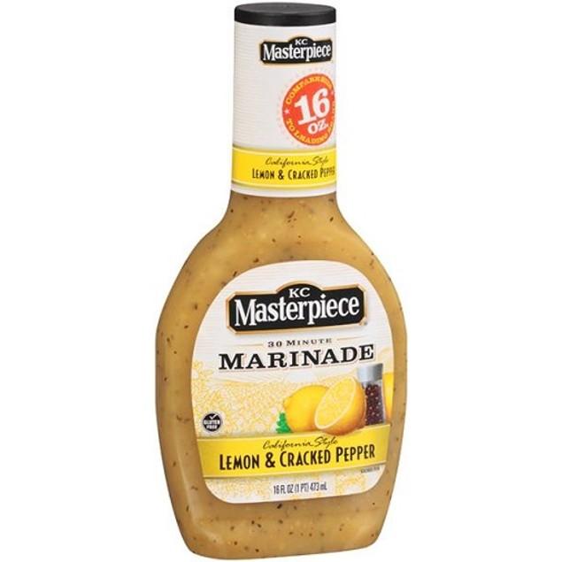 KC Masterpiece Lemon & Cracked Pepper 30 Minute Marinade