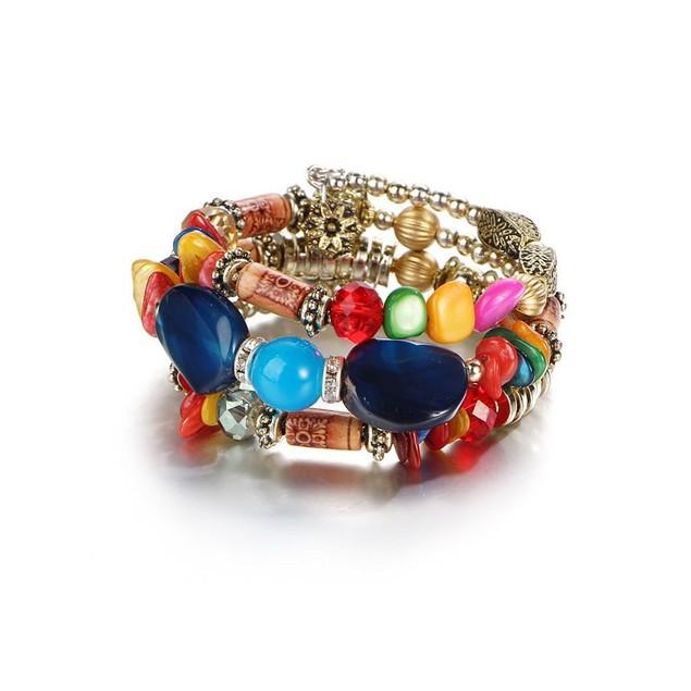 Novadab Holi Inspired Layered Bracelet