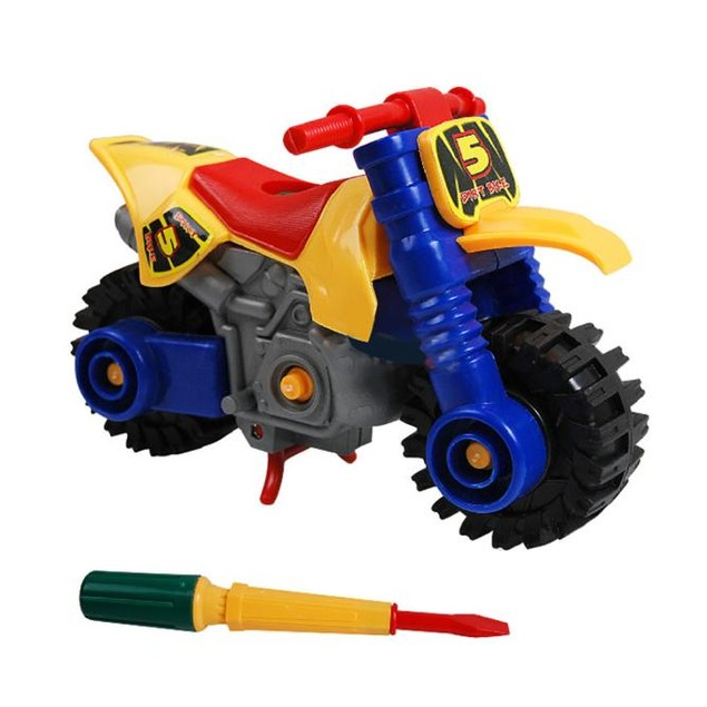 Disassembly Motorcycle Educational Toys for Children