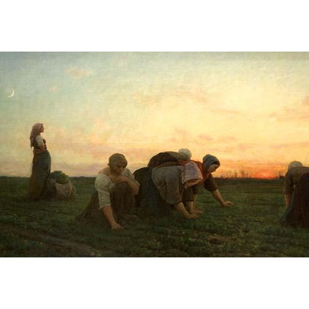 The Weeders.  High quality vintage art reproduction by Buyenlarge.  One of