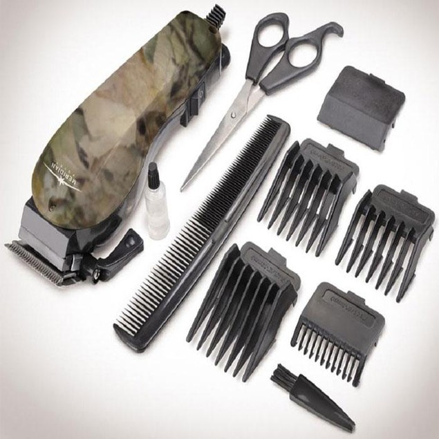 10-Piece Hair Clipper Set - 2 Styles