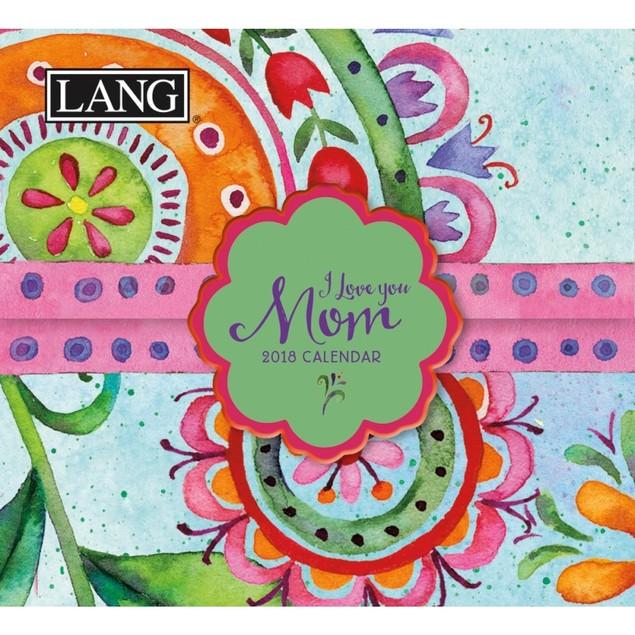 I Love You, Mom Mini Desk Calendar