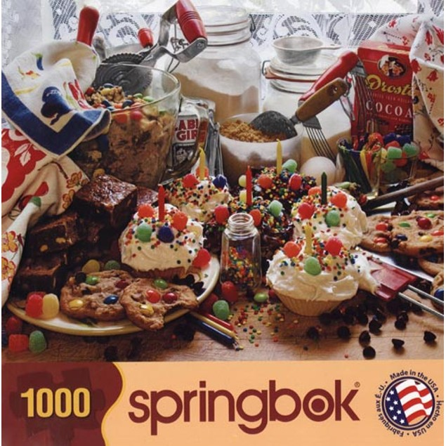 Treats and Sweets 1000 Piece Puzzle, 1,000 Piece Puzzles by Springbok