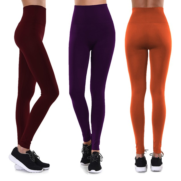 6-Pack Mystery Deal: Women's Ultra-Soft Fleece-Lined Leggings